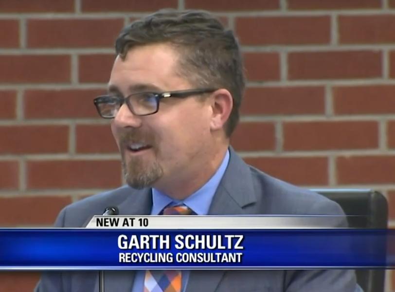 R3 Principal Garth Schultz presenting at San Rafael City Council meeting