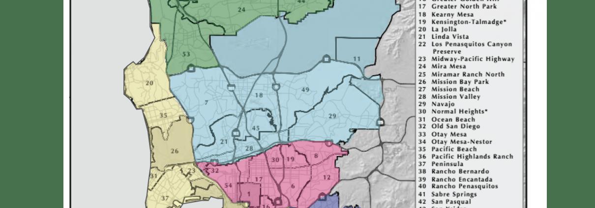 San Diego - Districting Study